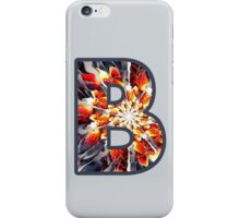 Fractal – Alphabet – B is for Beauty iPhone Case/Skin