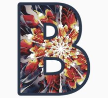 Fractal – Alphabet – B is for Beauty Kids Clothes