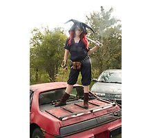 Sprocket - Wasteland's Sweetheart  Photographic Print