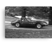 Marcos 1800 GT sports car Canvas Print