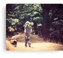 Kitty and Casper Canvas Print