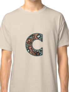 Fractal – Alphabet – C is for Complexity  Classic T-Shirt
