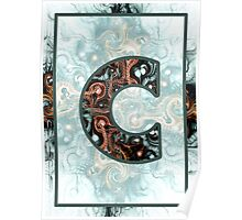 Fractal – Alphabet – C is for Complexity  Poster