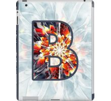 Fractal – Alphabet – B is for Beauty iPad Case/Skin