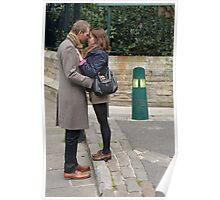 Perfectly matched lovers, Southwark Cathedral, London Poster