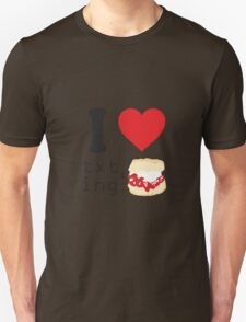 Texting and scones... T-Shirt