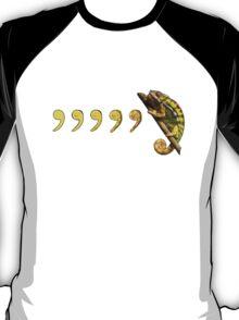Comma, Comma, Chameleon! T-Shirt