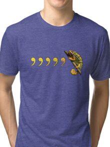 Comma, Comma, Chameleon! Tri-blend T-Shirt