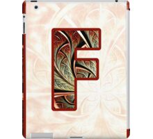 Fractal – Alphabet – F is for Fractal Creations iPad Case/Skin