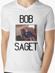 """Tourettes Guy """"Bob Saget"""" Mens V-Neck T-Shirt"""