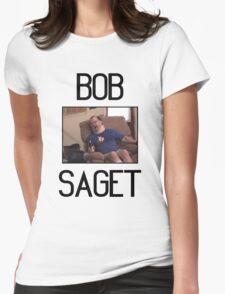 "Tourettes Guy ""Bob Saget"" Womens Fitted T-Shirt"