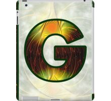 Fractal – Alphabet –  G is for Glow In The Dark iPad Case/Skin