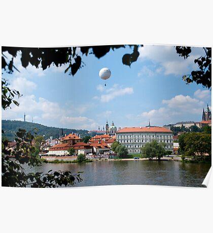 Praha architecture Poster