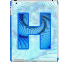 Fractal – Alphabet – H is for Hypnosis iPad Case/Skin