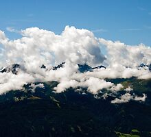 Alpine mountains by Dfilyagin