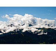 Alpine mountains Photographic Print