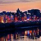 Lights on the Liffey by Denise Abé