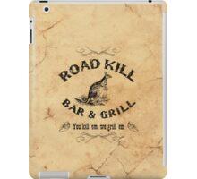 Road Kill Bar & Grill iPad Case/Skin