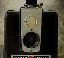 Brownie Hawkeye - iPhone case by Colleen Drew