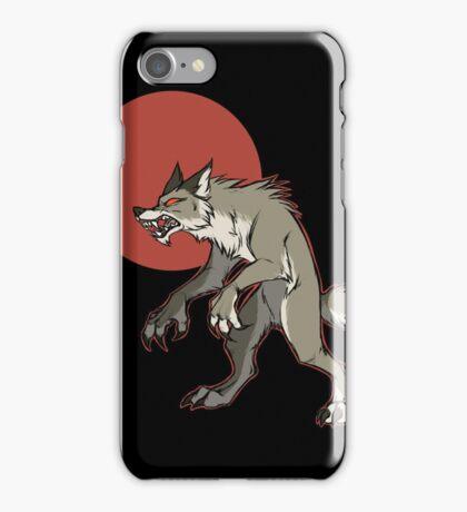 Redmoon Werewolf iPhone Case/Skin