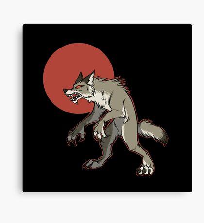 Redmoon Werewolf Canvas Print