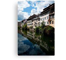 Strasbourg. Small France Canvas Print
