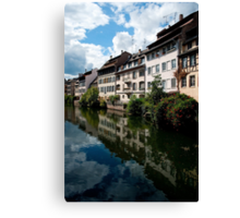 Strasbourg. Small France Canvas Print