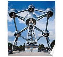 Brussel. Atomium Poster