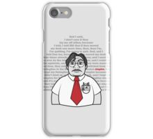 Milton's Monologue  iPhone Case/Skin