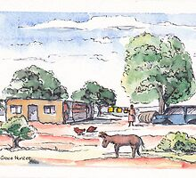 Koedoesrant, South Africa by Santie Amery