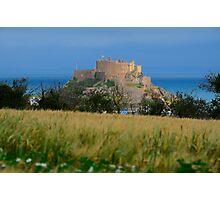 Mont Orgueil Castle Photographic Print