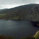 Lough Tay panorama by Esther  Moliné