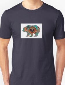 Multi-skin Bear Unisex T-Shirt