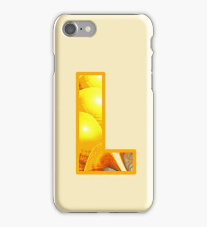 Fractal – Alphabet – L is for Light iPhone Case/Skin