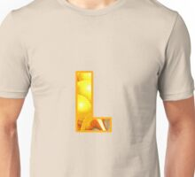 Fractal – Alphabet – L is for Light Unisex T-Shirt