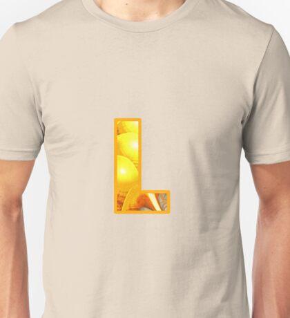Fractal – Alphabet – L is for Light Unisex T-Shirt