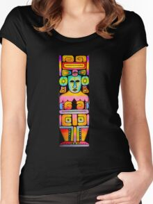 Indigenous God of Knowledge Women's Fitted Scoop T-Shirt