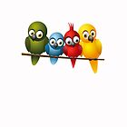 Cute overload - Birds by Novi
