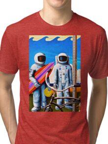 Land, Sea & Sky Tri-blend T-Shirt
