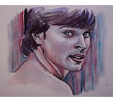 Portraits of Tom Welling, Clark Kent of Smallville, featured in The Group No Nudes Photographic Print