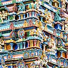 Hindu Temple by Walter Quirtmair