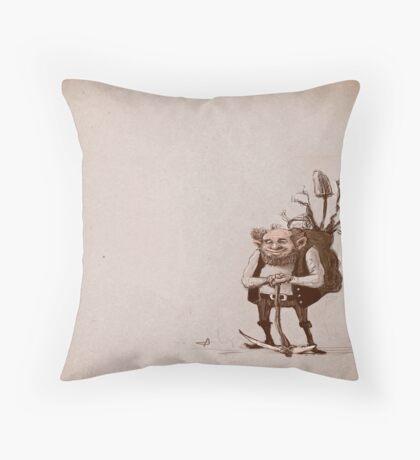 Dwarf Sketch Throw Pillow