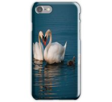 swans heart iphone case iPhone Case/Skin