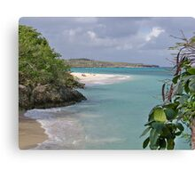 Lazy Day on Guardalavaca Beach Canvas Print