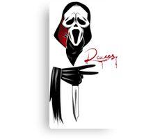 Deuces: Ghostface Edition Canvas Print
