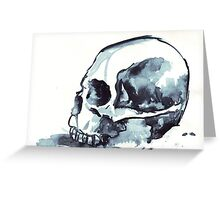 Ink Skull 1 Greeting Card