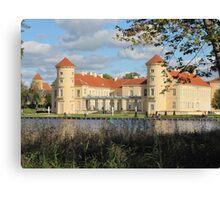 Castle Rheinsberg in Brandenburg Canvas Print