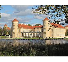 Castle Rheinsberg in Brandenburg Photographic Print