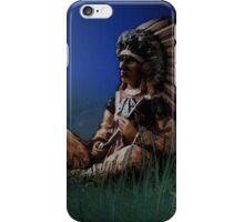 Sitting chief i phone case iPhone Case/Skin