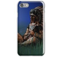 Sitting chief i phone case iPhone Case/Skin